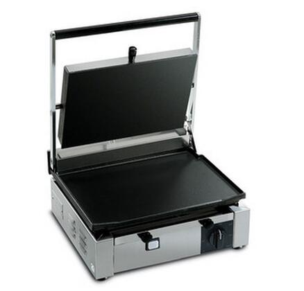 Picture of CORT-L Medium Single Panini Grill 220 Volts  50 Hertz with Cooking Surface 145x10 in Stainless