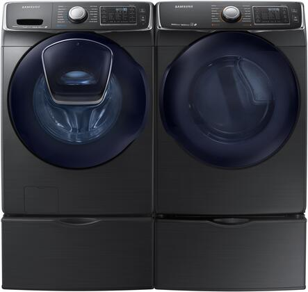 Samsung Appliance 691590 Black Stainless Steel Washer and Dr