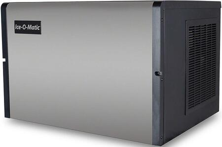 Ice-O-Matic ICE0606 Modular  Cube Ice Machine with  Condensing Unit, Superior Construction, Cuber Evaporator, Harvest Assist and Filter-Free Air in Stainless Steel Finish