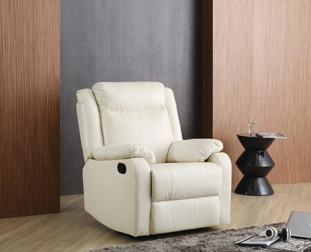 Glory Furniture G762ARC G76 Series Faux Leather  Recliners