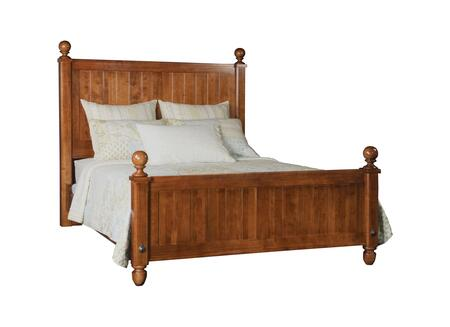 Durham 105124VINM Bayview Series  Queen Size Panel Bed