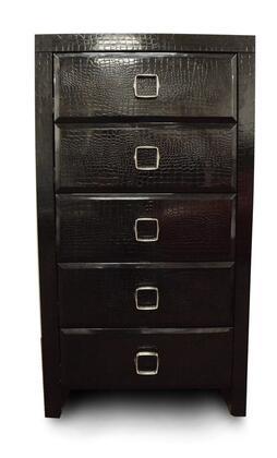 VIG Furniture VGUNAW55060BLK A & X Glam Series Wood Chest