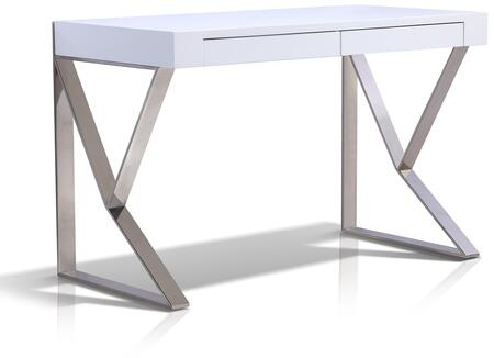 Casabianca TC0098WH York Series Computer  Wood Desk