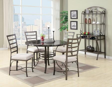 Acme Furniture 70057TCBR Val Dining Room Sets