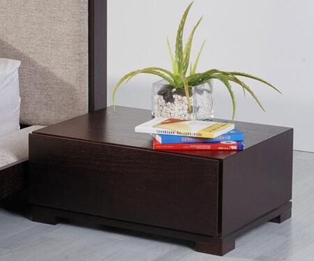 VIG Furniture VGKCCOMFYNS Modrest Comfy Series Rectangular Wood Night Stand