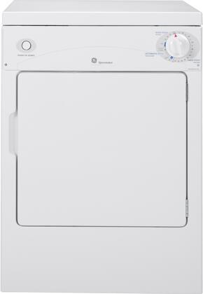 "GE DSKP333ECWW 24"" Electric Spacemaker Series Electric Dryer"