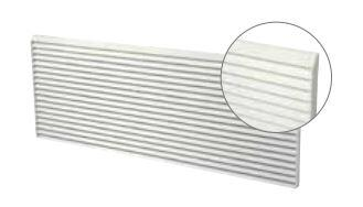Polymer Architectural Rear Grille