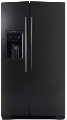 Electrolux EW26SS70IB  Side by Side Refrigerator with 25.93 cu. ft. Capacity in Black