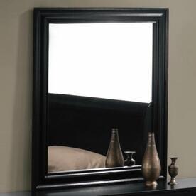 Acme Furniture 00434 Louis Philippe Series Square Portrait Dresser Mirror