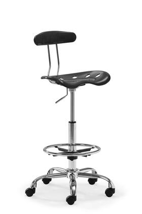 Zuo 20601 Farallon Collection Modern Adjustable Drafters Chair in