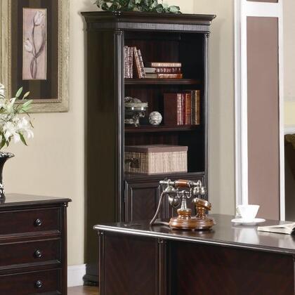Coaster 801003  Wood 2 Doors Shelves Bookcase