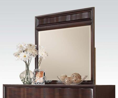 Acme Furniture 20524 Travell Series Rectangular Portrait Dresser Mirror
