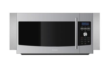 Samsung Appliance ME179KFETSR 1.7 cu. ft. Capacity Over the Range Microwave Oven