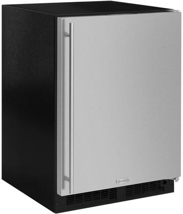 """Marvel ML24RFT 24"""" Refrigerator and Freezer and Maxstore Bin with Dynamic Cooling Technology, Independent Temperature, Self Closing Freezer, and Vacation Mode, in"""
