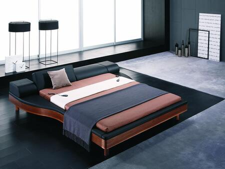 VIG Furniture VGWCPORTOFINO Modrest Portofino Modern Adjustable Leather Bed