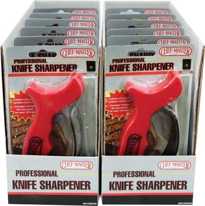 Picture of 90015GDCM01 12 Pack of Professional Knife Sharpeners with Reversible Carbide Blades and  Protective Finger