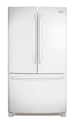 "Frigidaire FFHN2740PP 36""  French Door Refrigerator with 27.6 cu. ft. Capacity in White"