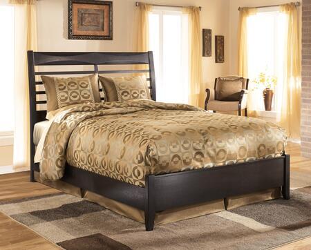 Milo Italia Montgomery Collection BR-561PANELBED Size Panel Bed: Black