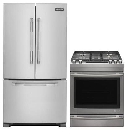 Jenn Air Deals 848163 2 Piece Stainless Steel Kitchen Appliances Package