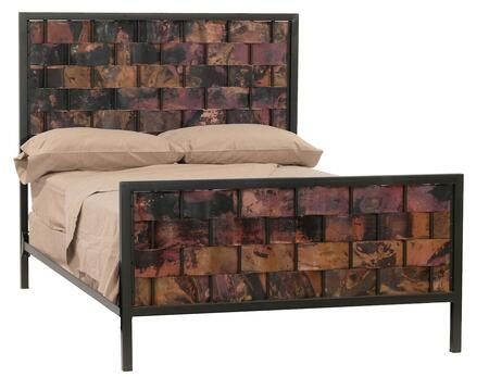 Stone County Ironworks 904744COP  Queen Size HB & Frame Bed