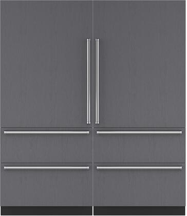 Sub-Zero 710451 Side-By-Side Refrigerators