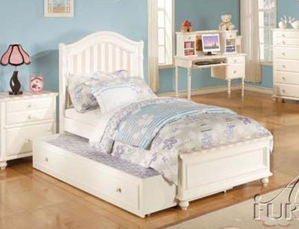 Acme Furniture 11035T Zoe Series  Twin Size Bed