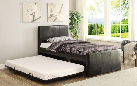 Acme Furniture 30480T Jandale Series  Twin Size Panel Bed