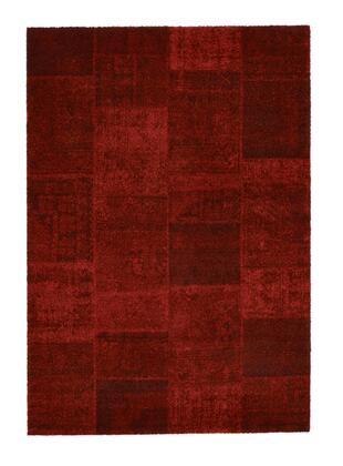 Citak Rugs 3510-050X Hudson Collection - Collage - Red