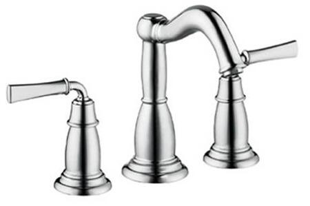 Hansgrohe 4270 Double Handle Widespread Bathroom Faucet with Metal Lever Handles from the Tango C Collection: