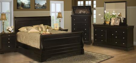 New Classic Home Furnishings 00013QSBDMCN Belle Rose Queen B