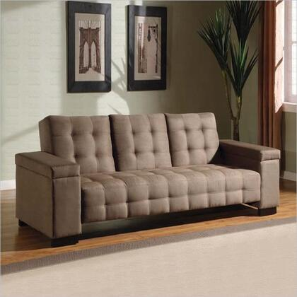 Coaster 300146  Convertible Microfiber Sofa