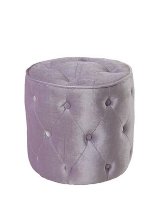 Standard Furniture 6519X Young Parisian Ottoman with Velvet Upholstery in XXX