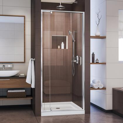 DreamLine Flex Shower Door Chrome