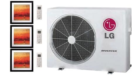 LG 704090 Triple-Zone Mini Split Air Conditioners