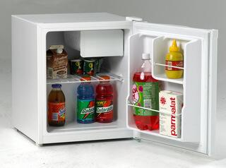 Avanti RM1740W  Freestanding Counter Depth Compact Refrigerator with 1.7 cu. ft. Capacity, 1 Wire ShelfField Reversible Doors