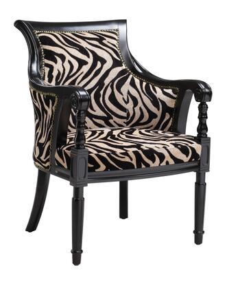 Stein World 64770 Rayas Series Armchair Fabric Wood Frame Accent Chair