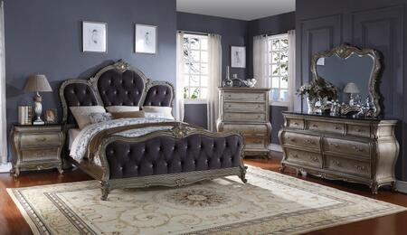 Meridian ROMAQDMCN Roma Queen Bedroom Sets
