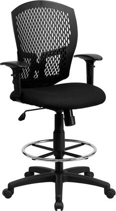 """Flash Furniture WL3958SYGBKADGG 25.5"""" Contemporary Office Chair"""