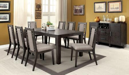 Furniture Of America Cm3213tdtb8sc Eris I Dining Room Sets Appliances Connection