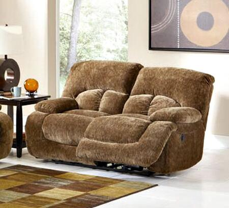 Coaster 600712 Fabric Reclining with Wood Frame Loveseat