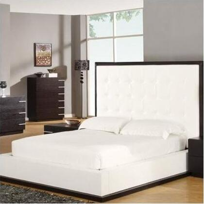 Global Furniture USA METROQB Metro Series  Queen Size Platform Bed