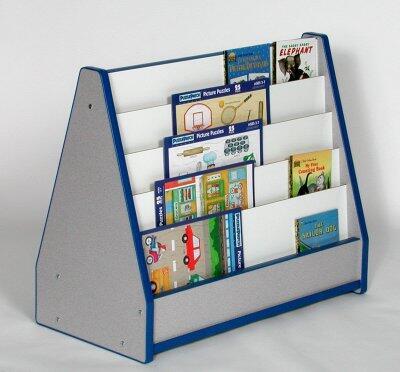 Mahar N51025BL Childrens  Wood Magazine Rack