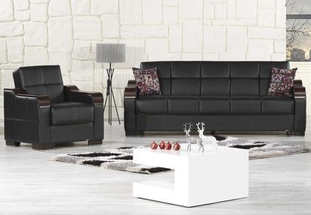 Casamode UCSBACBKL Living Room Sets