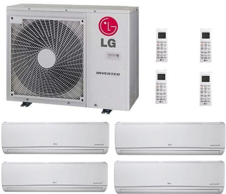 LG 730423 Quad-Zone Mini Split Air Conditioners