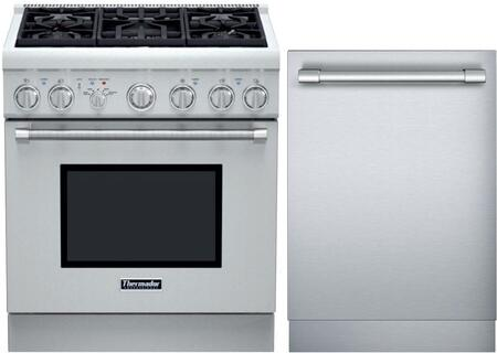 Thermador 716080 PRO Harmony Kitchen Appliance Packages