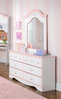 Standard Furniture 59709A Sweet Dreams Series Wood Dresser