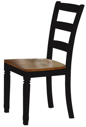 Standard Furniture 11124 Brentwood Series Casual Not Upholstered Wood Frame Dining Room Chair