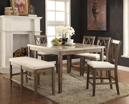 Acme Furniture Claudia 6 PC Set