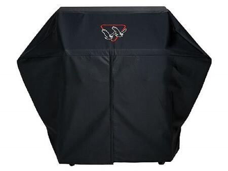 Twin Eagles VCBQ Vinyl Cover for Freestanding Grills, in Black