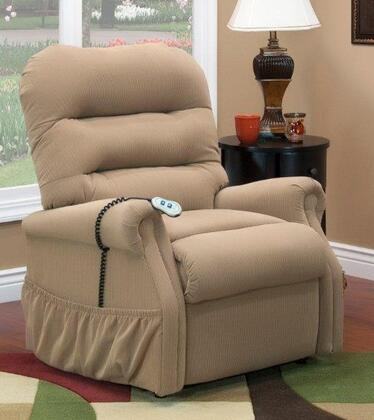 MedLift 3053WAALB Contemporary Fabric Wood Frame  Recliners
